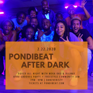 PON DI BEAT AFTERDARK : AFRO GROOVE SESSION WITH M...