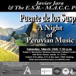 Puente de los Suspiros: A Night of Peruvian Music