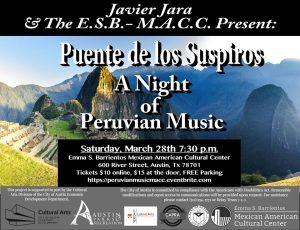 Puente de los Suspiros: A Night of Peruvian Music