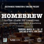 AMF & TuneCore present Homebrew: Coffee Chats for Creatives