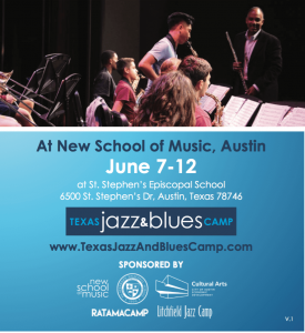 5th Annual Texas Jazz & Blues Camp