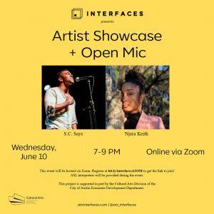 Interfaces: Artist Showcase & Open Mic