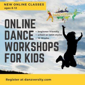Danzversity Kids Online Dance