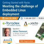 Webinar: Getting Started with Yocto: Meeting the challenge of Embedded Linux deployment