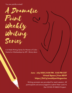 A Dramatic Point Weekly Writing Series for Women o...