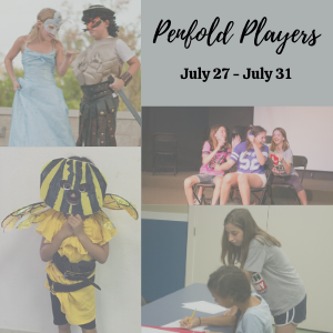 Penfold Theatre presents Penfold Players Summer Camp
