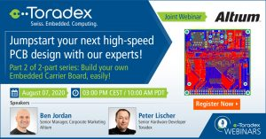 Webinar: Jumpstart your next high-speed PCB design with our experts!