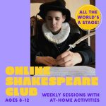 ImprovEd Shakespeare Club For Kids (Online)