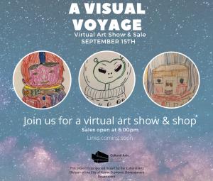 A Visual Voyage - Virtual Art Show