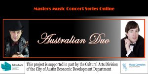 Masters Music Concert Series Online. Australian Du...