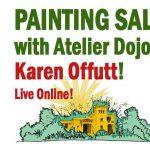 PAINTING Salon with Atelier Dojo!