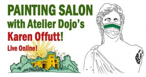 PAINTING Salon with Atelier Dojo!