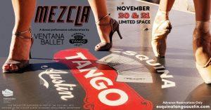 """Mezcla"" a collaboration by Ventana Ballet & Esquina Tango"