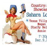 Country(ish) Showcase at Sahara Lounge