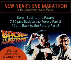 New Year's Eve Back to the Future Movie Marathon