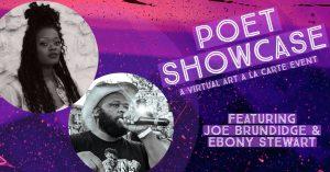 Poet Showcase: A Virtual Art A La Carte Event