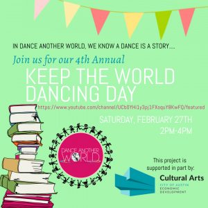 4th Annual Keep the World Dancing Day