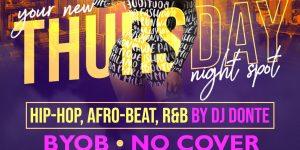 Thursday Night Live: R&B, Hip-Hop, Reggae
