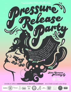 Pressure Release Party with SIMS Foundation & Scary American Studios