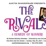 Austin Shakespeare Presents a Live Zoom performance of The Rivals