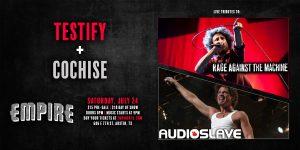 Testify & Cochise (RATM + Audioslave Tributes)...