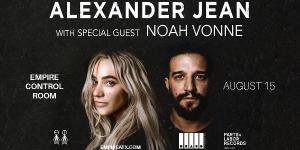 Alexander Jean w/ special guest Noah Vonne at Empi...