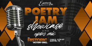 Poetry Jam - Open Mic & Showcase   8.20