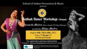 Kathak Dance Workshop (Virtual)