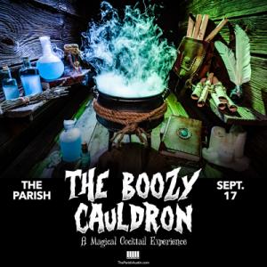 The Boozy Cauldron (Seated) at The Parish 9/17