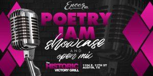 Poetry Jam - Open Mic & Showcase | 10.15