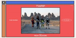 TWRP w/ Rich Aucoin at The Parish 1/18