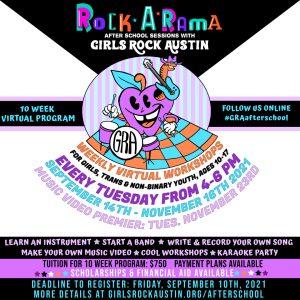 GRA Rock-A-Rama After School Program Fall 2021