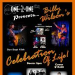 Billy Wilson's Celebration of Life - Benefiting HAAM at ONE-2-ONE BAR