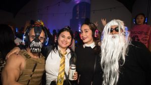 Spooky Silent Disco Party @ The Belmont Austin TX