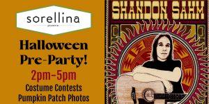 Halloween Pre-Party with Shandon Sahm