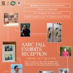 AARC Fall Exhibits Reception