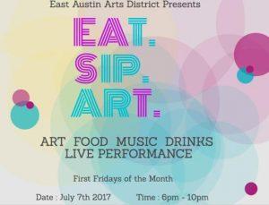 EAT.SIP.ART East First Fridays