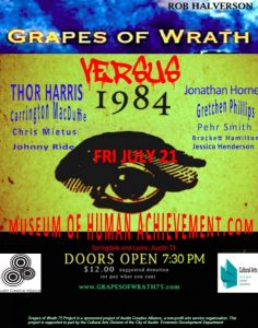 """1984"" vs ""Grapes of Wrath"" Live!!"