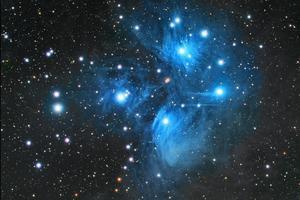 series show #3 (Iannis Xenakis's Pleiades)