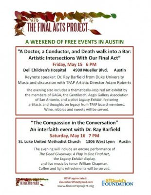 The Compassion in the Conversation: An Interfaith Event with Dr. Raymond Barfield