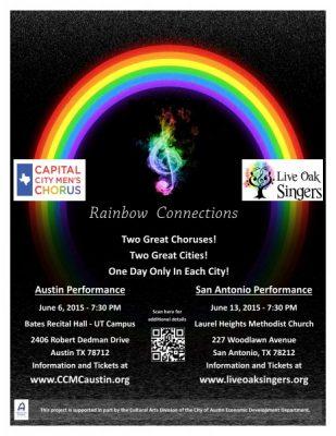 Capital City Men's Chorus presents Rainbow Connections