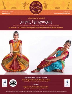 A Bharatanatyam Recital by Ms. Janaki Rangarajan
