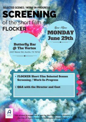 """""""Flocker"""" Selected Scenes/Work-in-Progress Screening"""