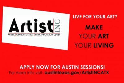 Artist INC ATX  What Works Workshop