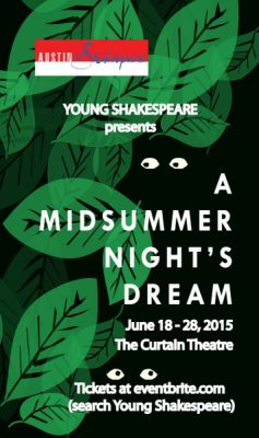 Young Shakespeare's A Midsummer Night's Dream