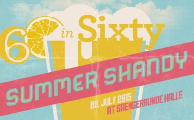 Fusebox's 60-in-Sixty: SUMMER SHANDY