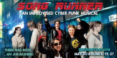 Song Runner: An Improvised Cyber Punk Musical