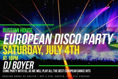European Disco Party
