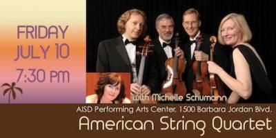 American String Quartet with Michelle Schumann
