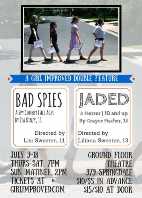 Girl Improved's Double Feature: Bad Spies and Jaded